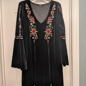 Sugarlips Black Boho Dress